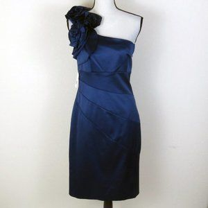 Jessica Simpson Navy Blue Formal Dress Size 10 NWT